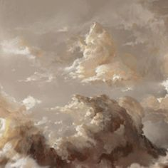 The inclusion of the clouds is important to represent the story since the sky is a recurring image.