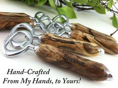 6 Personalized Engraved Wood Bottle Openers  Hand by farrellwoods, $200.00