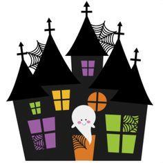 halloween house clipart - Buscar con Google