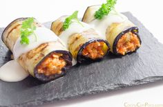 Discover recipes, home ideas, style inspiration and other ideas to try. Healthy Snacks, Healthy Eating, Healthy Recipes, Cannelloni Recipes, Deli Food, Salty Foods, Menu, Eggplant Recipes, Lamb Recipes