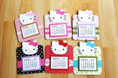 Crazy for Paper: Magnetic Coaster Calendars