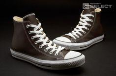 62d87b6c97ac Converse Shoes - Chuck Taylor All Star - Hi-cut - Mens Shoes - Brown
