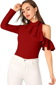 Classy Outfits, Beautiful Outfits, Casual Outfits, Women Bow Tie, Fancy Tops, Stylish Dress Designs, Latest African Fashion Dresses, Girl Fashion, Fashion Outfits