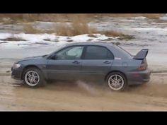MITSUBISHI LANCER EVO 8 /STREET LEGAL CAR RACE WITH PURE ENGINE SOUND