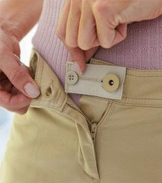 A calça não fecha?    Olha só que boa dica até emagrecer aqueles quilinhos que ganhou com as festas de final de ano.