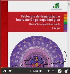 Orientar en Extremadura: Protocolo de diagnóstico e intervención psicopedagógica. Guía Nº - 1 de diagnóstico rápido 0-5 años.