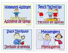 Centers Assignments Mini Cards Pocket Charts Choose from a variate of cards to label your centers English / Spanish Subscription gives you access to print all our materials - several thousand pdf's www.thelearningpatio
