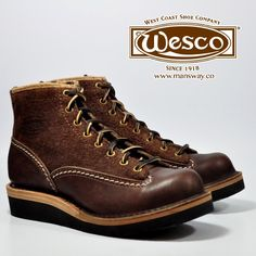 WESCO BOOTS 現貨歡迎到店裡選購!  或者上網購買 - http://mansway.co/category-7