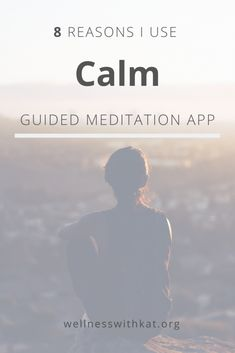 8 Reasons I Use the Calm Guided Meditation App - Wellness With Kat Guided Meditation Apps, Best Meditation App, Calm App, Daily Calm, Very Tired, Practice Gratitude, Tough Day, Bedtime Stories, Fun To Be One