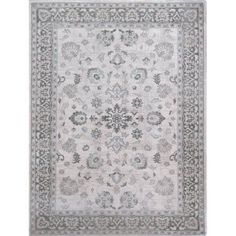 Home Dynamix - Berkeley Collection Traditional Area Rug for Modern Home Dcor, Beige