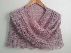 Ravelry: Astrid's Rosebud Shawl pattern by Cath Ward — free Knit Shrug, Knitted Shawls, Crochet Shawl, Knit Crochet, Lace Shawls, Shawl Patterns, Lace Patterns, Knitting Patterns Free, Free Pattern