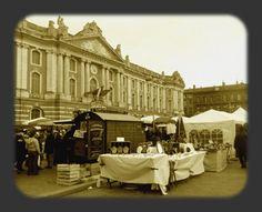 Marché aveyronnais à Toulouse Capitole