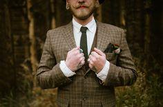 plaid jacket. hipster groom attire. Whimsical Wedding. Bread Bar, a&be,  Lale Florals, Laurel & Rose www.laurelandrose.com