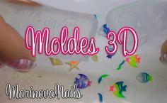 Uñas acrilicas Moldes 3D