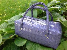 Flettet taske