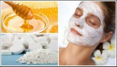 Homemade Facial Mask With Aspirin And Honey Makes Your Skin Glow Like Never Before - TheHealthRays Homemade Facial Mask, Homemade Facials, Psoriasis On Face, Honey Face Mask, Psoriasis Remedies, Perfect Skin, Diy Skin Care, Facial Masks, Anti Aging Skin Care