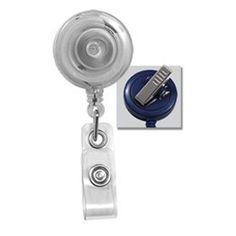 ***2.99 Flat Rate Ships your ENTIRE ORDER from Specialist ID*** These Swivel Clip Reels are the best choice for Doctors, Nurses and Hospital Staff! Clip attaches to any part of any garment and is great for connecting to a pocket or the neck-line of scrubs. The Swivel has 360 Degree Rotation which allows you to badge yourself in at card readers at any height. They Attach and and are Removed easily and are of the Highest Quality When selling your designs to your friends and co-workers only…