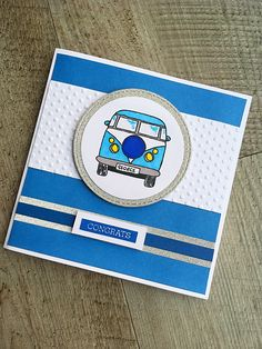 Congratulations passed driving test camper van card