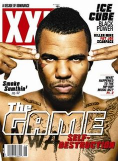 The Game covers  XXL Magazine