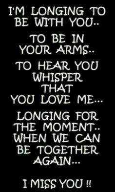 I miss You ♥