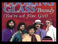 Brandy You're A Fine Girl Looking Glass...graduated and got married in 1972...baby on the way...happy times...smile times.