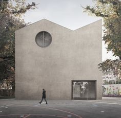 WALDRAP . Pestalozzi primary school . Bern (1)