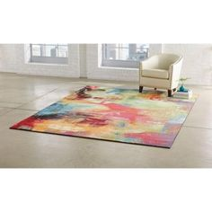 Home Decorators Collection Journey Multi 3 ft. 3 in. x 4 ft. 7 in. Area Rug - 25003 - The Home Depot