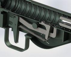 Sten Mk II - SOLIDWORKS - 3D CAD model - GrabCAD Anti Materiel Rifle, 3d Cad Models, Submachine Gun, Outdoor Toys, Airsoft Guns, Guns And Ammo, Rifles, Shotgun, Firearms