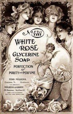 No. 4711 White Rose Soap Ad - 1909