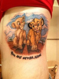 lion king tattoo @Sarah Chintomby Chintomby davis
