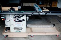 Mobile base for G0691 table saw