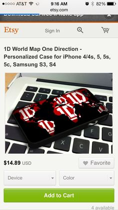 One direction phone case world