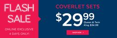 QE Home Quilts Etc Canada Flash Sale: Coverlet Sets Starting at $29.99 http://www.lavahotdeals.com/ca/cheap/qe-home-quilts-canada-flash-sale-coverlet-sets/184674?utm_source=pinterest&utm_medium=rss&utm_campaign=at_lavahotdeals