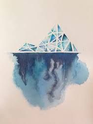 Image result for iceberg tattoo