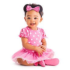 Disney Minnie Mouse Pink Bodysuit Costume Collection for Baby 59b949b4f5b