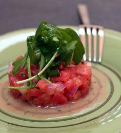tartare tomate