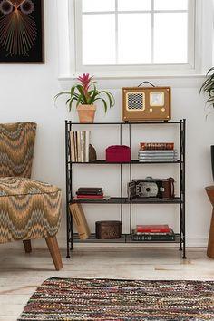 Black Brimfield Bookcase