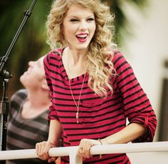 """Go to our app http://www.facebook.com/appcenter/fotofight  and upload your favorite Taylor Swift photo on """"Taylor Swift  challenge""""   and Win a prize. If your picture win you will get an iPhone5."""