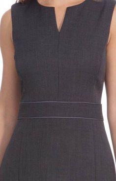 38 Trendy ideas dress pattern for women outfit Clothing Patterns, Dress Patterns, Couture Dresses, Fashion Dresses, Simple Dresses, Dresses For Work, Frock For Women, Vintage Street Fashion, Corporate Attire