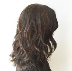 Long Lived On Vertical Layered Lob With Color Melt Cut By Jason Townsend