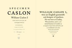 Type Specimen Book | Emily Carr University