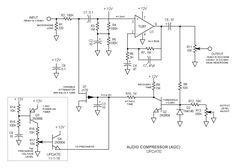Update Audio Compressor AGC Schematic 2