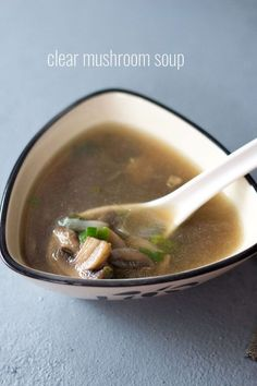 mushroom soup recipe with step by step photos. this chinese style mushroom soup recipe is simple, easy & too good. i love sipping this soup.