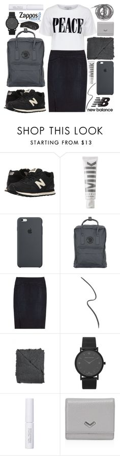"""""""Run the World in New Balance """" Contest Entry"""""""" by foundlostme ❤ liked on Polyvore featuring New Balance Classics, MILK MAKEUP, Fjällräven, Closed, Gucci, Faliero Sarti, Larsson & Jennings, W3LL People, Urbanears and Botkier"""