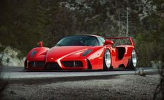 I was inspired by Kazuki's Accuair Testa to be quite blunt. Then again, I usually destroy Ferrari's regardless. Ha
