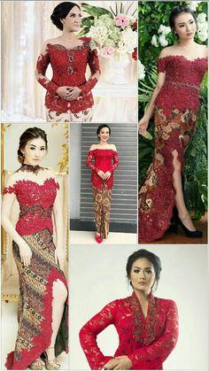 Kebaya Lace, Kebaya Brokat, Batik Kebaya, Kebaya Dress, Batik Dress, Model Kebaya Modern, Kebaya Modern Dress, Indonesian Kebaya, Kebaya Wedding
