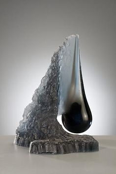 """*Art Glass - """"Drop in the Landscape"""" by Vladimira Klumpar"""