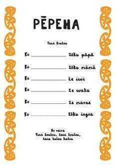 Te reo Maori - Pepeha (Who I am, where I come from)