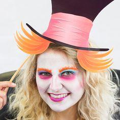 Maquillaje del Sombrerero Loco
