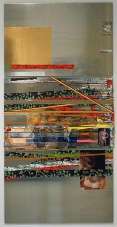 Isa Genzken (b. 1948, German). Untitled, 2004. Aluminum, adhesive tape, lacquer.